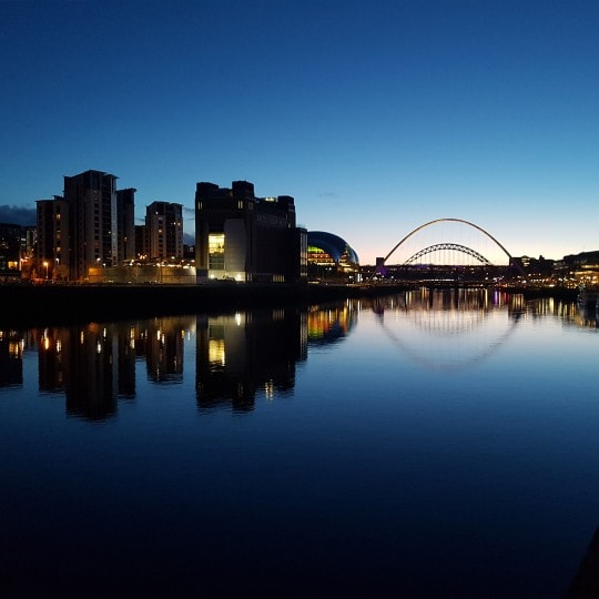 The Quayside at Night